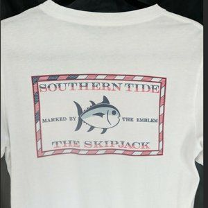 Southern Tide Independence Day T Shirt Mens XS